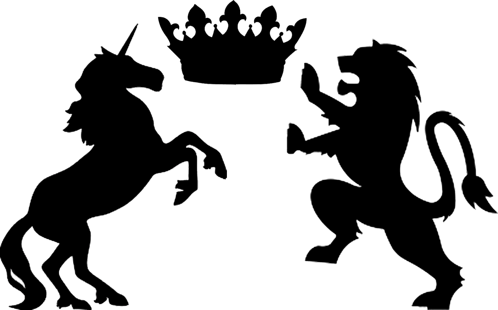 Lion silhouette png. Images in collection page