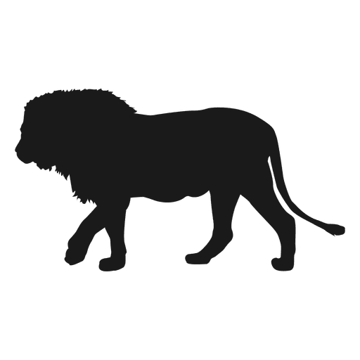 Transparent svg vector. Lion silhouette png clipart library library