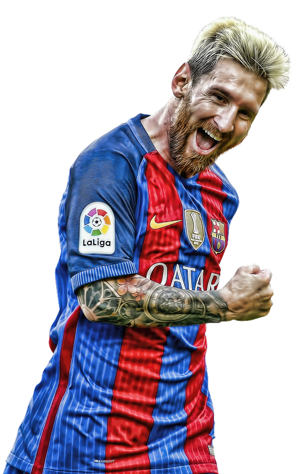 Lionel messi 2016 png. Topaz by beastieblake on