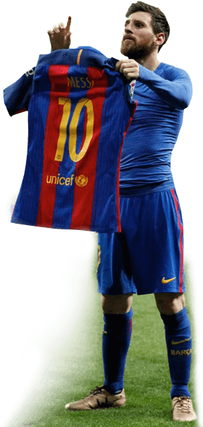 Lionel messi png 2017. Download hd vs real