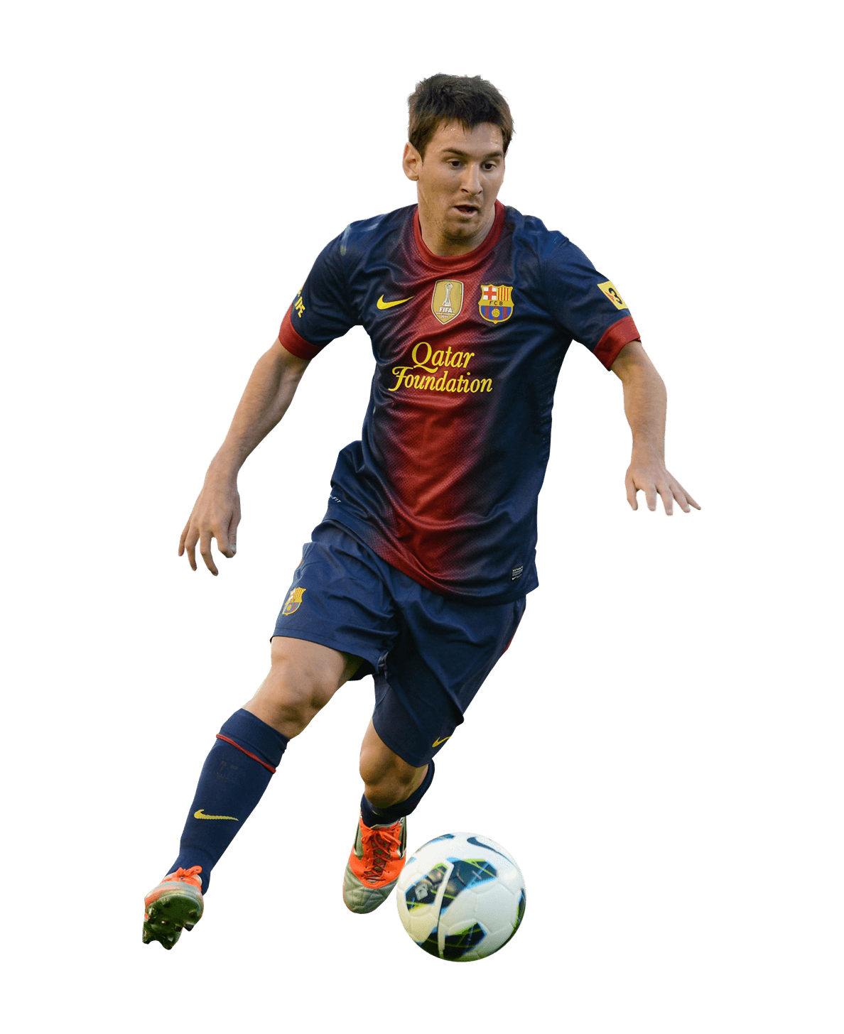 Lionel messi png. Playing transparent stickpng