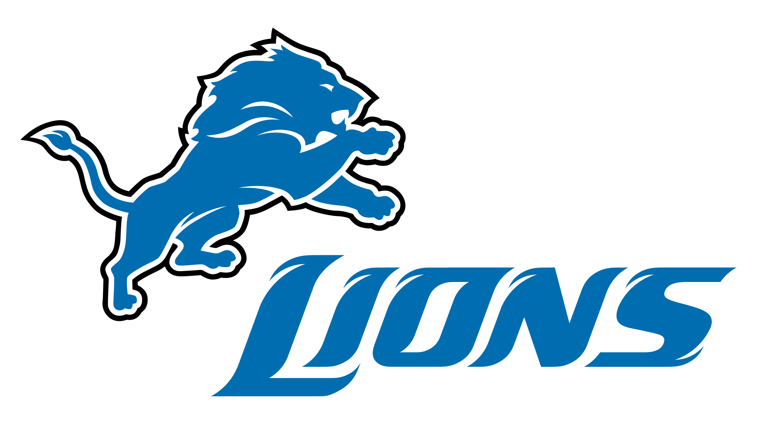 Lions logo png. Detroit symbol meaning history