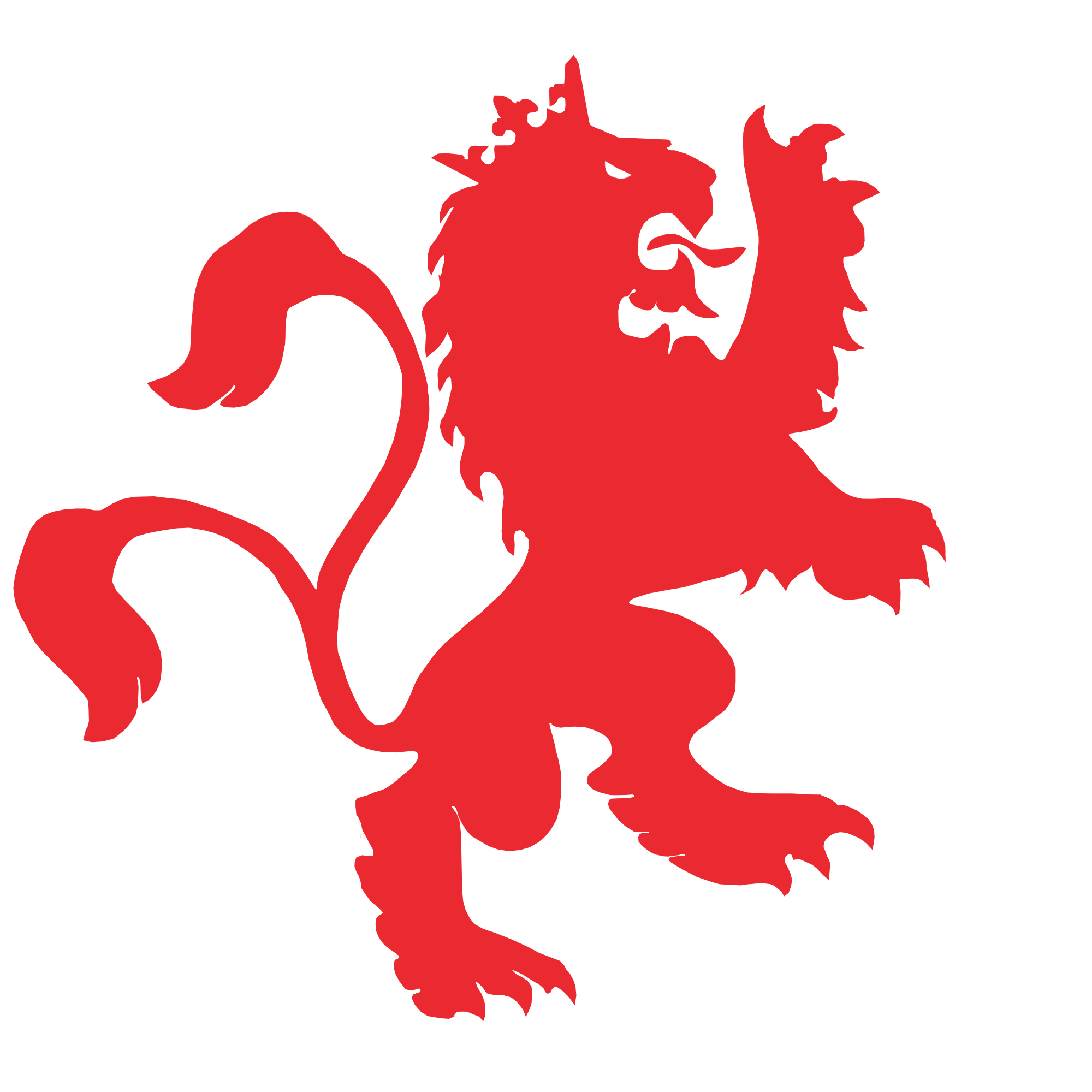 Lions vector red lion. Logos