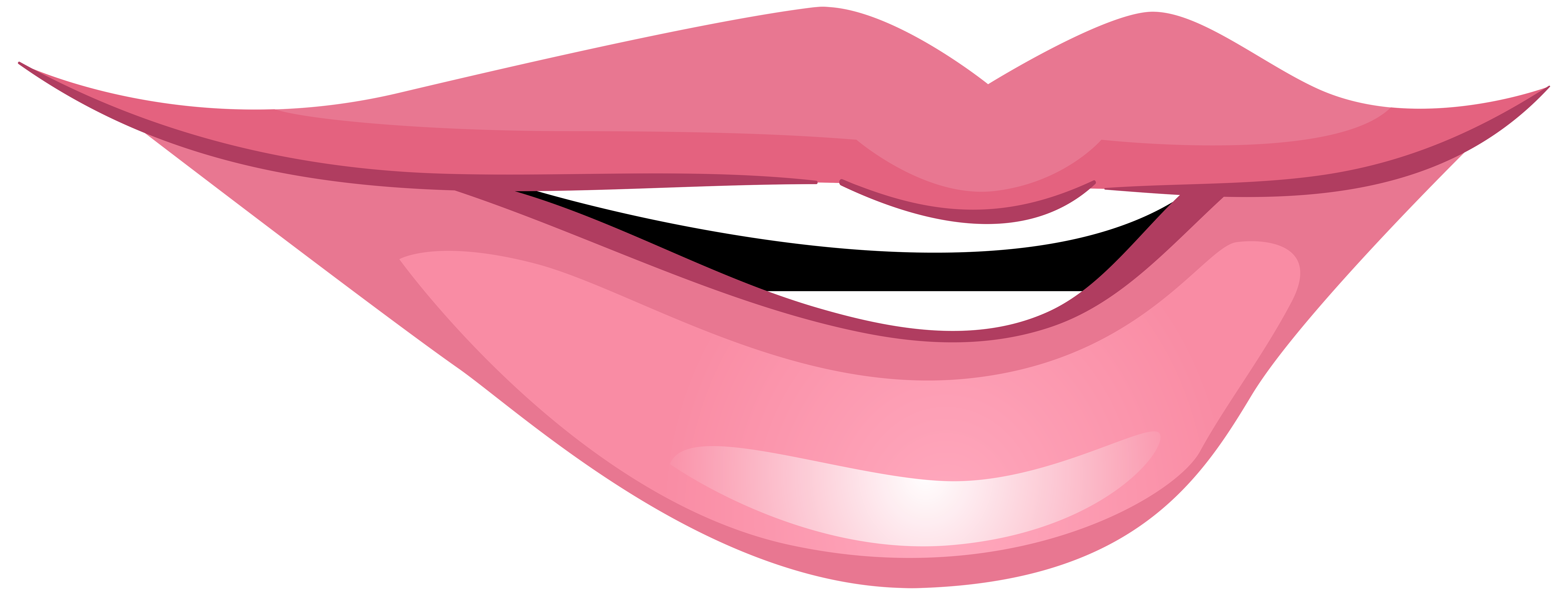 Mouth clipart smile line. Pink smiling png clip