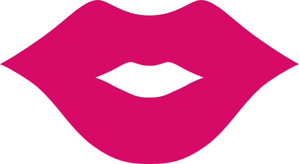 Kiss clipart light pink. Free glitter lips cliparts