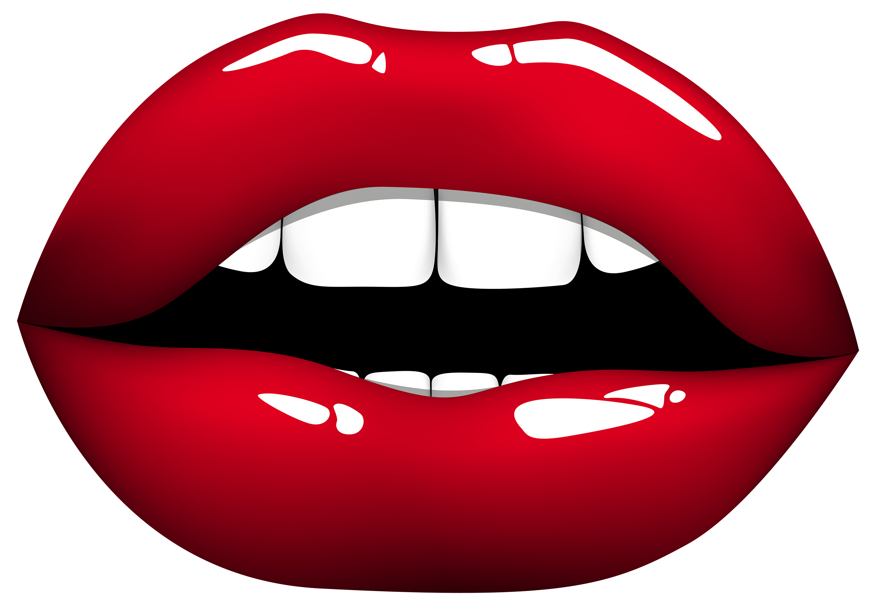 Red lips png best. Chin clipart transparent png free library