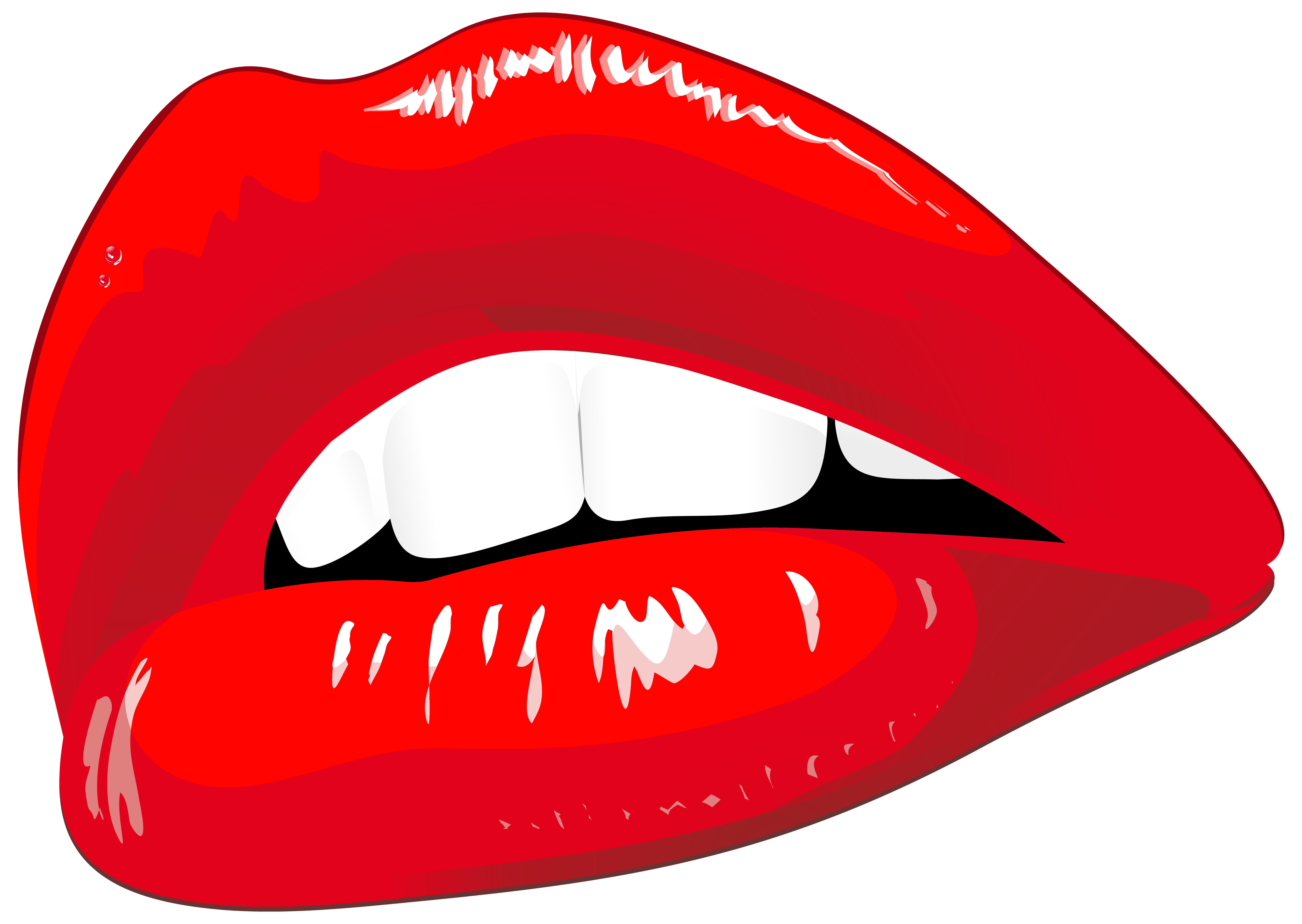 Lip clipart transparent background. Red lips png clip