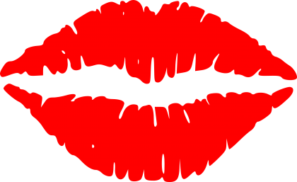 Lip clipart transparent background. Lips png images free