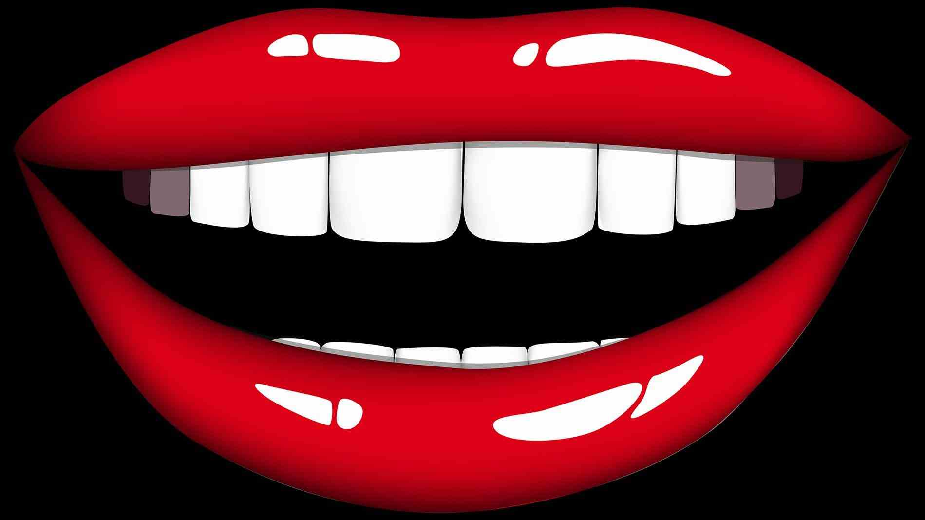 Lips clipart human mouth. Free for kids childrens