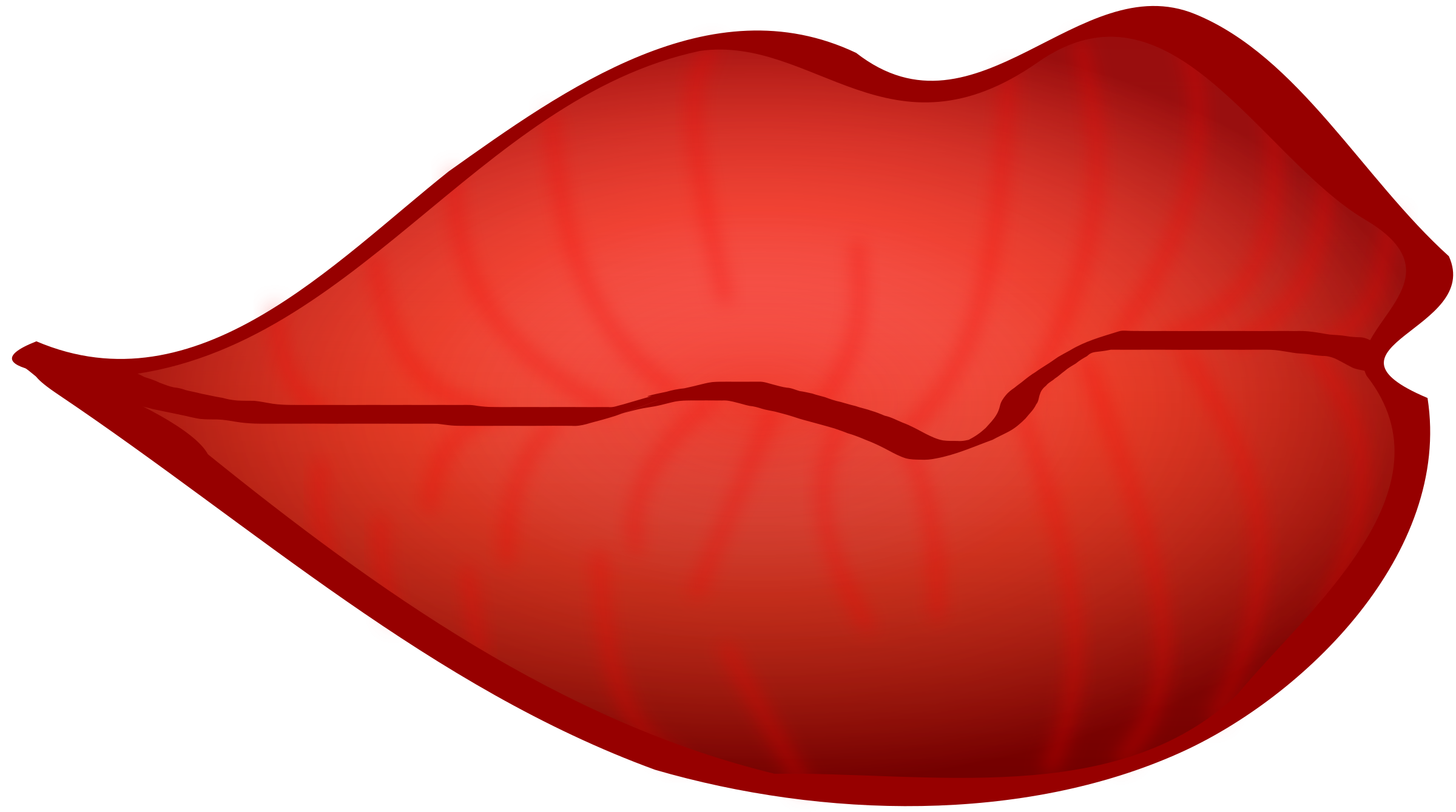 Red lips png. Kissing clipart at getdrawings