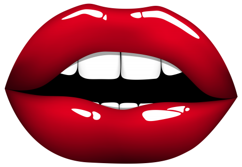 Anime lips png. Red clipart am i