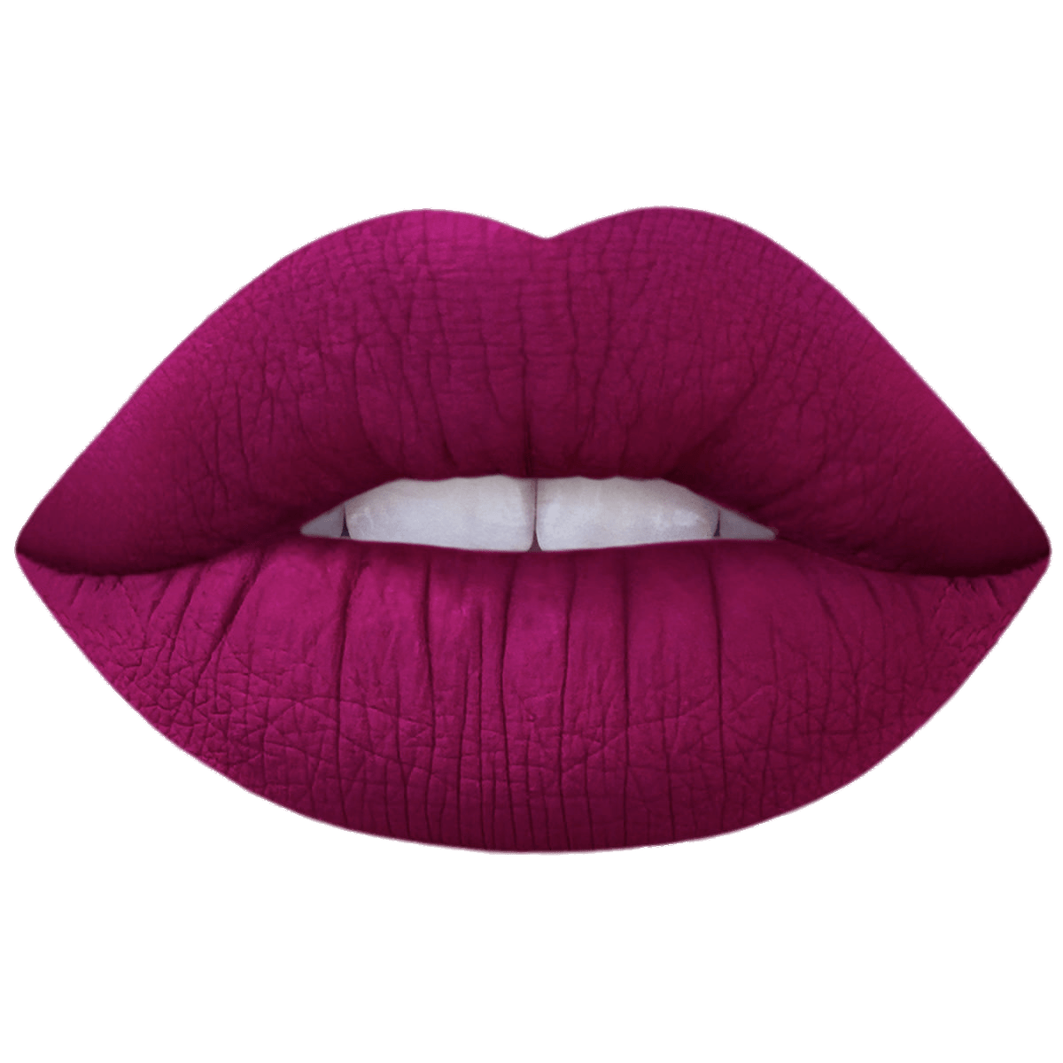Lipstick lips png. Berry red on transparent