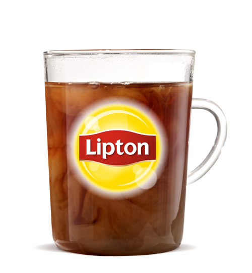 Lipton tea png. Burger king hot