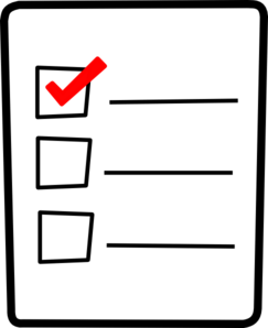 checklist clipart png