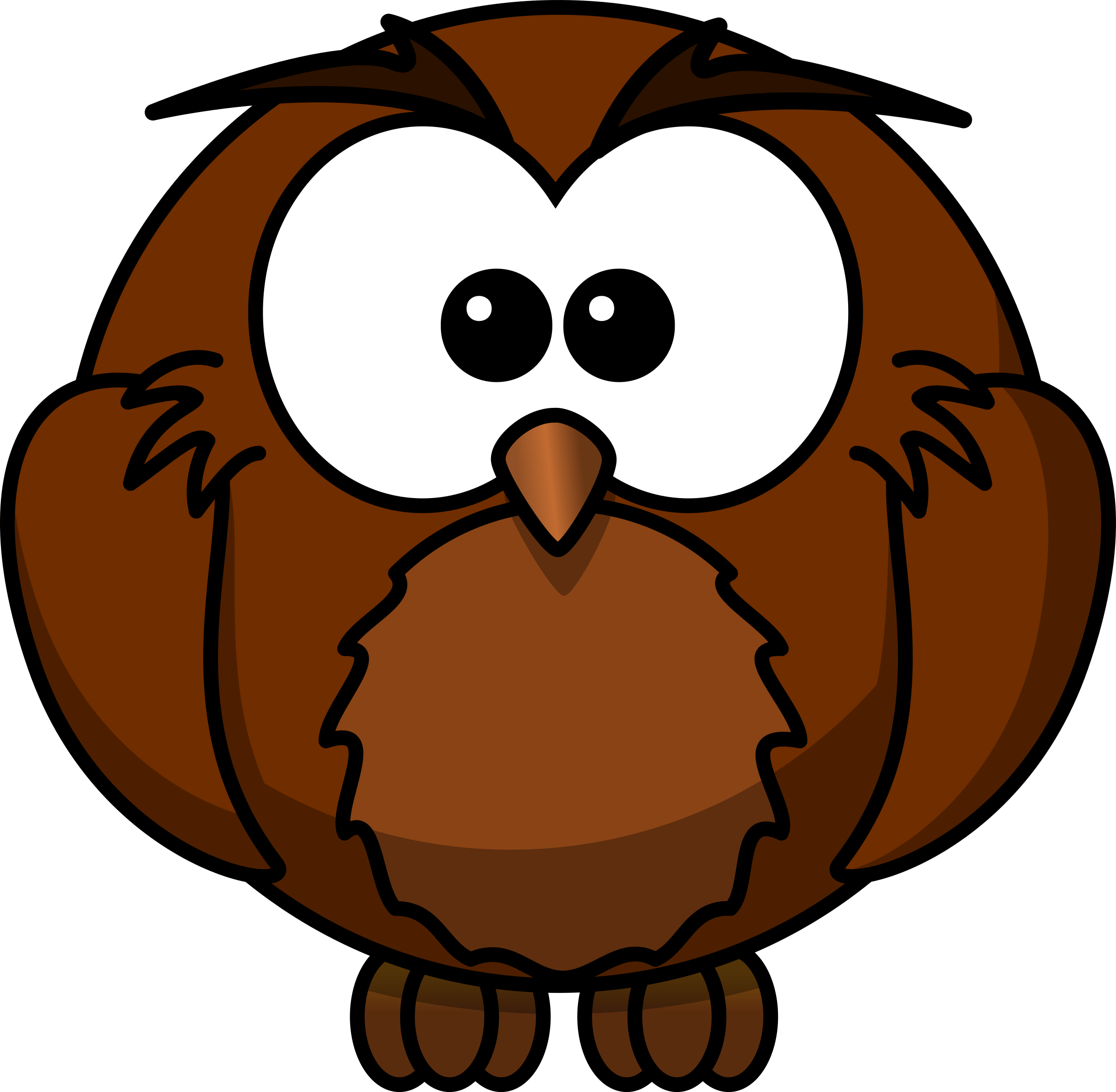 Years clipart owl. Wise cartoon who has