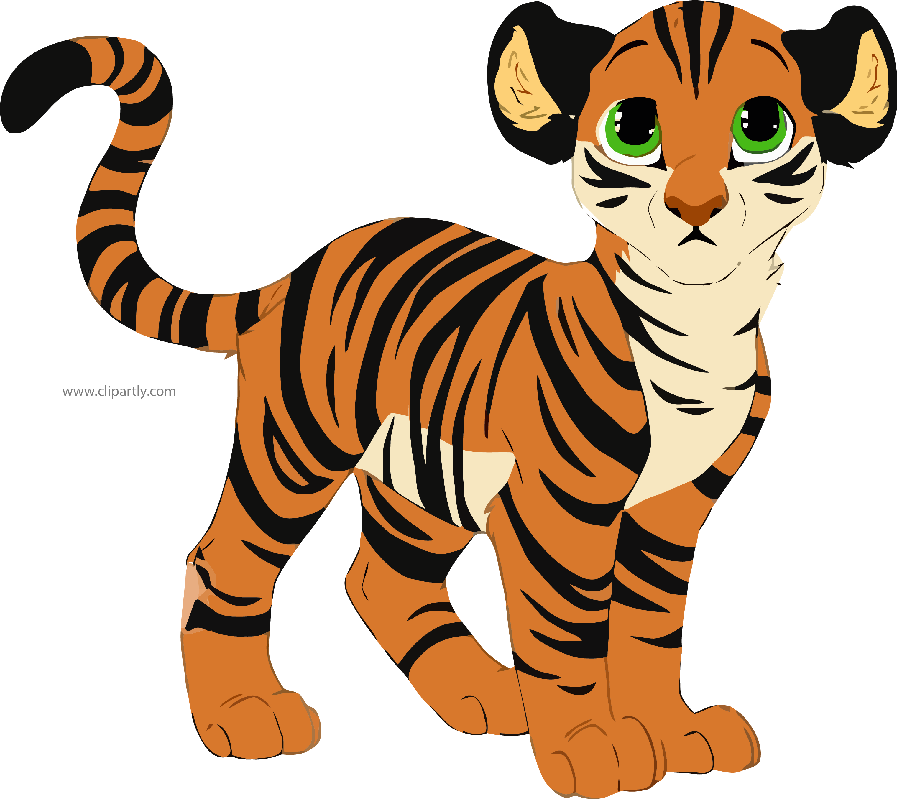 Listen clipart png. Baby tigger picture clipartly
