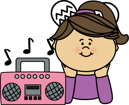 boombox clipart misic