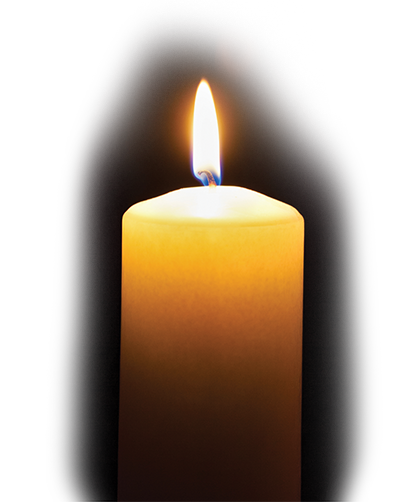Lit candles png. Home page light up