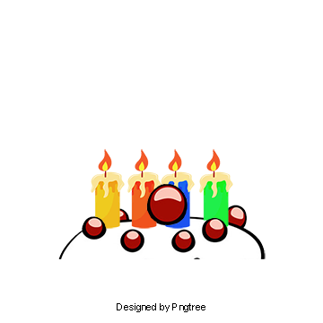 Birthday candles png images. Download resources with clipart