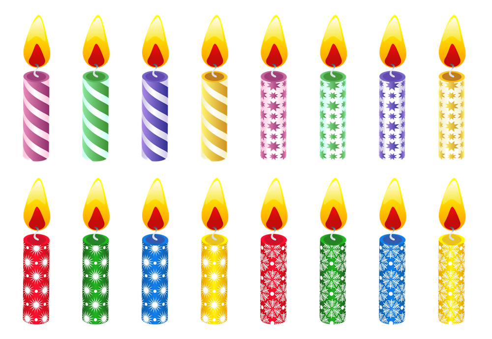 Transparent images all hd. Lit number 1 and 5 birthday candles png png transparent download