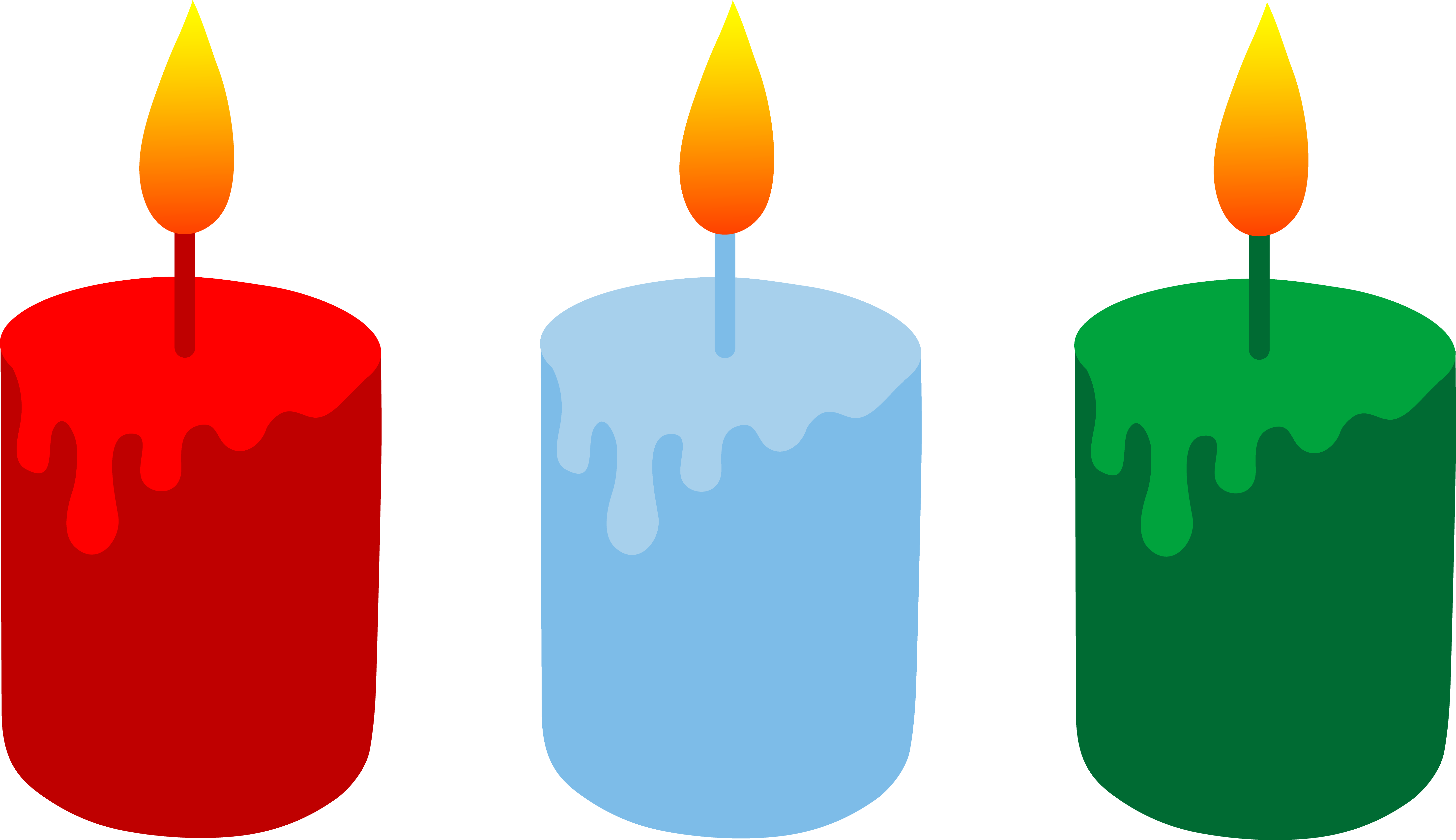 drawing candles traditional