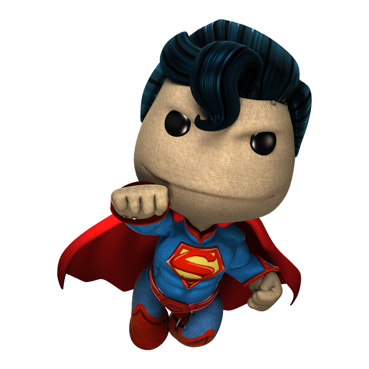 Little big planet 3 png. Superman littlebigplanet quantum of