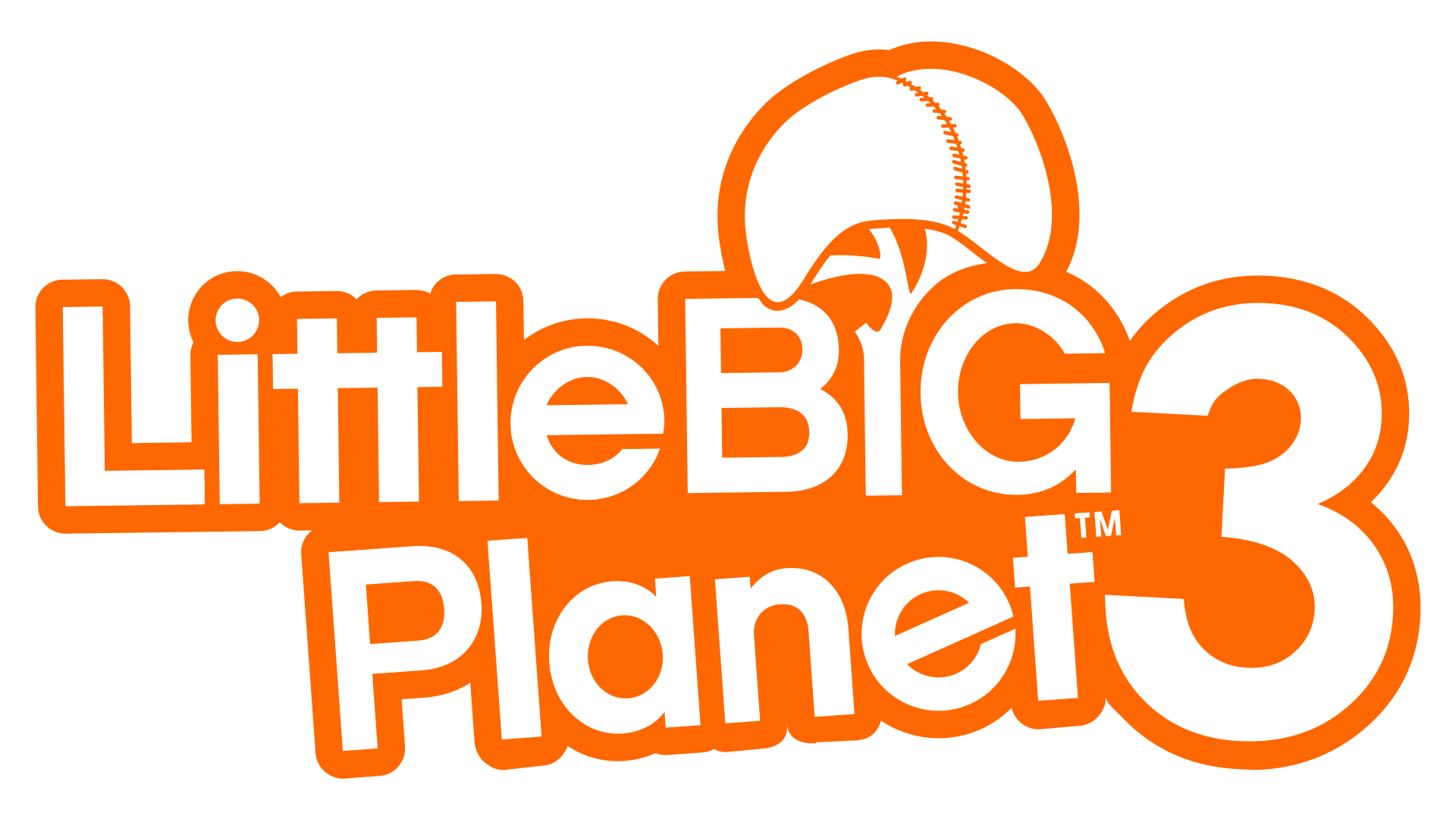 Little big planet 3 png. Image logo lbp littlebigplanet