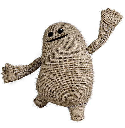 Little big planet 3 png. Littlebigplanet hands on the