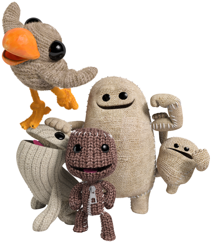 Little big planet 3 png. Image lbp group littlebigplanet