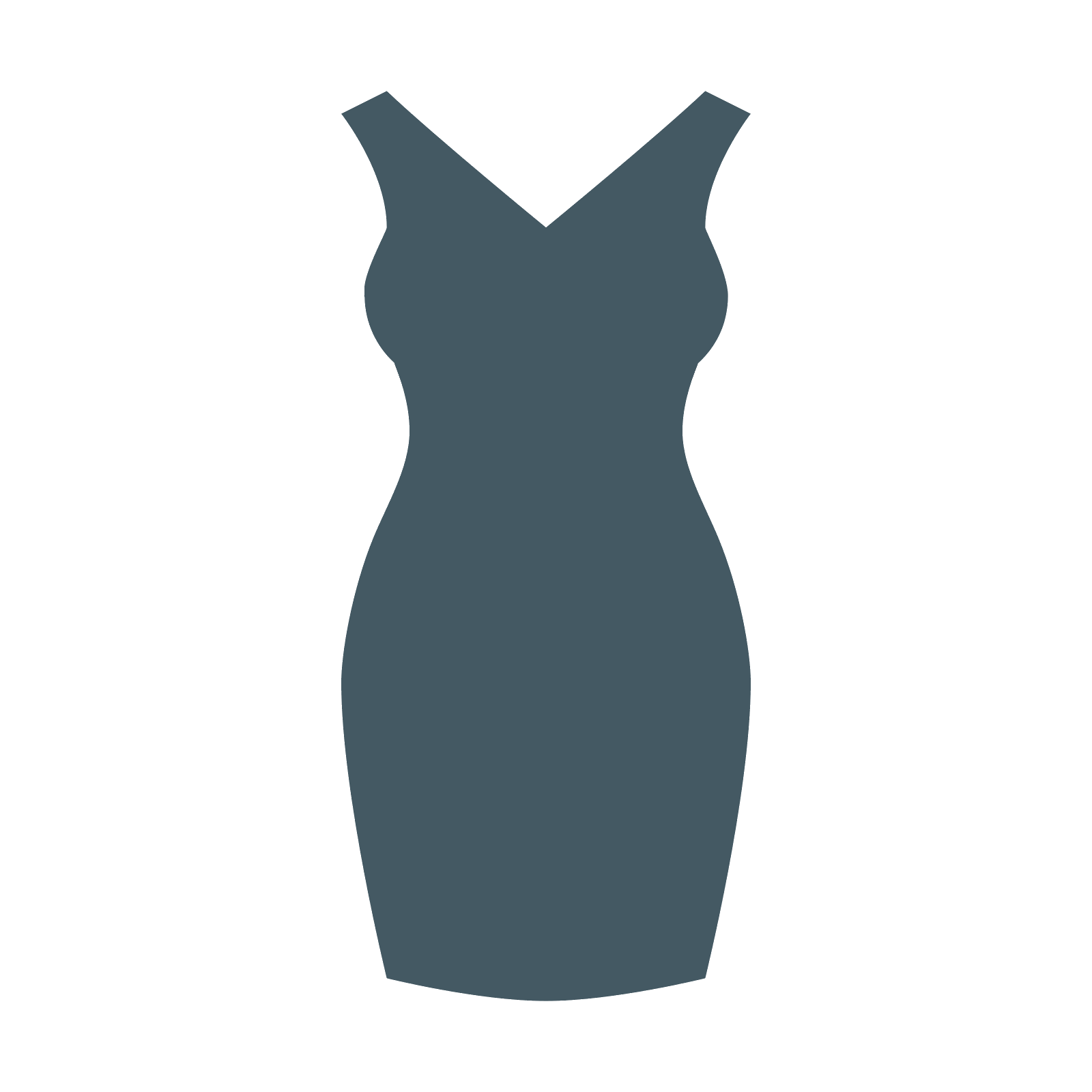 Dress vector png. Little black icon free