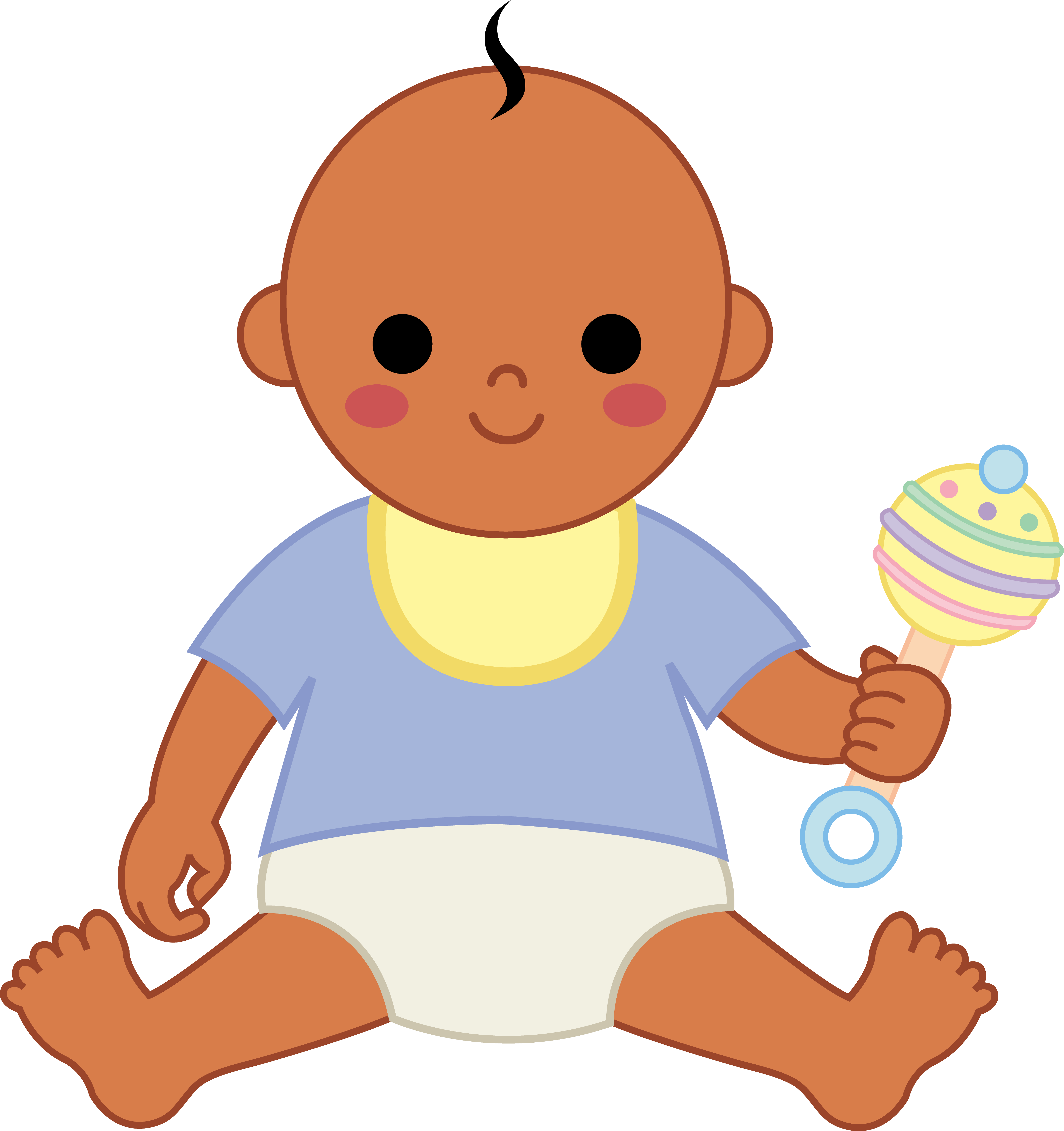 Little clipart baby brown. Free boy download clip