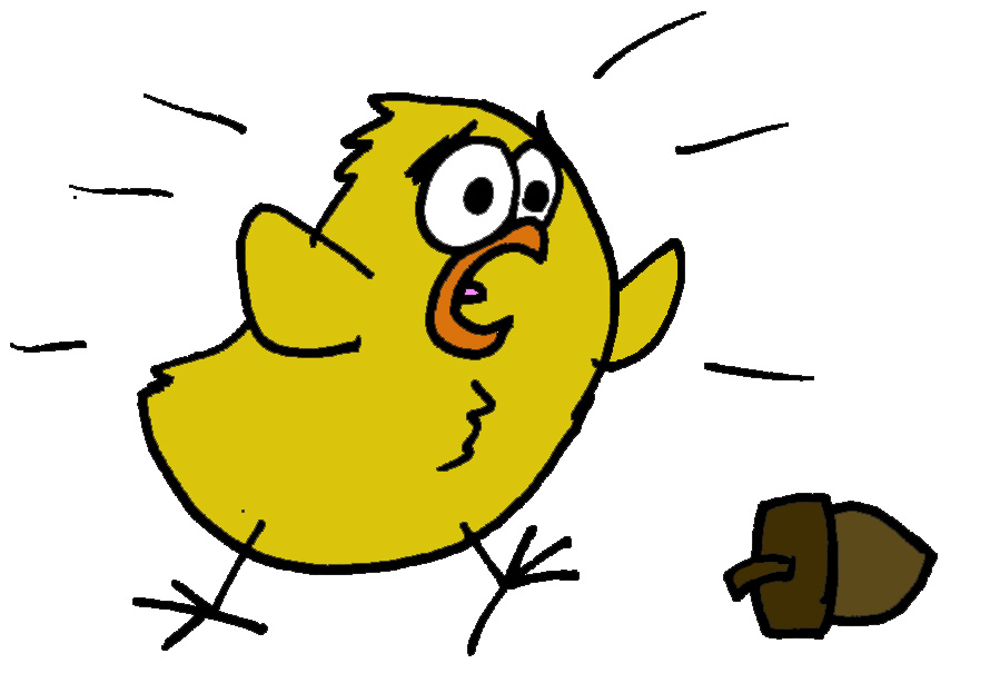 Once upon a time. Little clipart chicken little vector transparent download