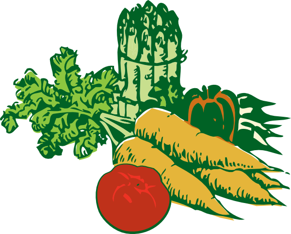 Veggies clipart two. Free garden vegetable cliparts