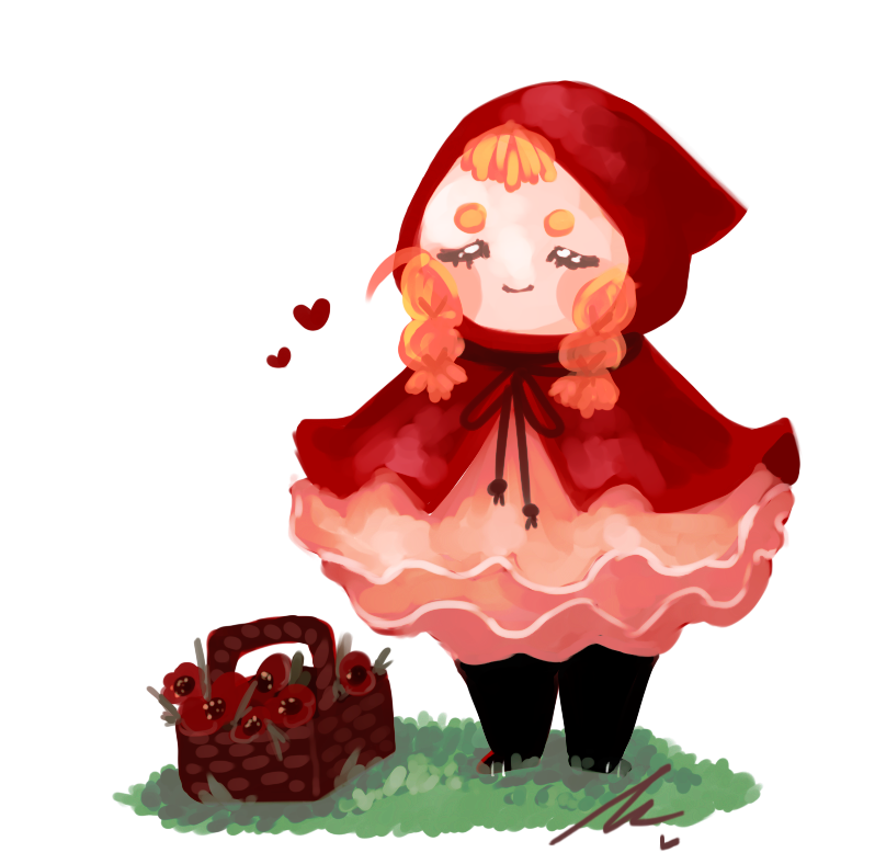 Little red riding hood png. Open auction by wiviadopts