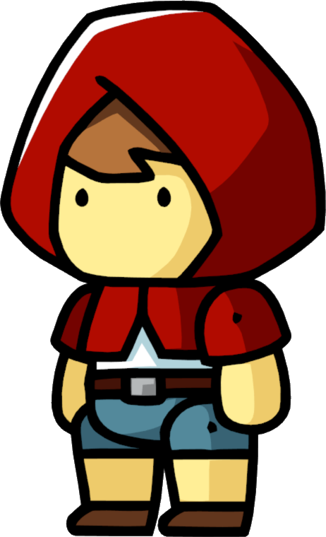 Little red riding hood png. Image male scribblenauts wiki