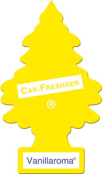 Vanillaroma. Little tree air freshener png vector