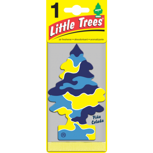 Trees pina colada. Little tree air freshener png vector transparent download