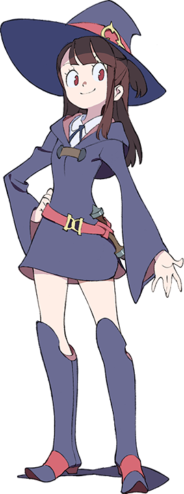 akko little witch academia png