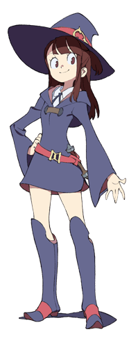 Little witch academia akko png. Characters tv tropes appearances