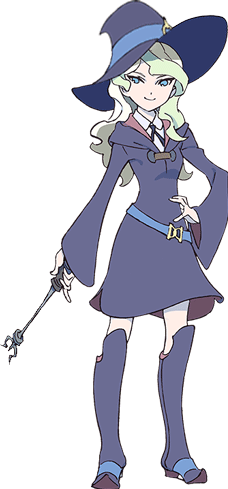 Akko little witch academia png. Characters tv tropes appearances