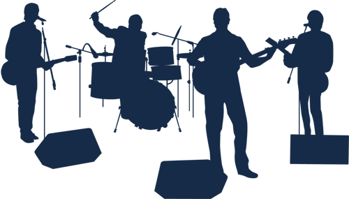 Live band png. No cover go to