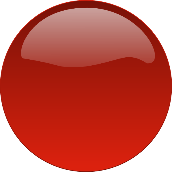 Live button png. Red glossy no text