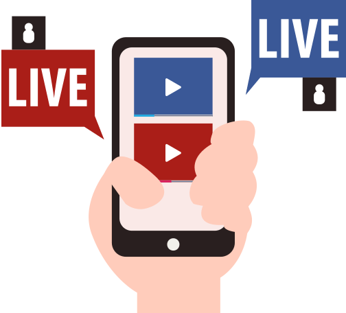 Schedule and automate youtube. Live facebook png graphic freeuse stock