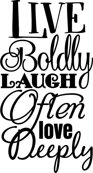 Live laugh love png. Text sticker tenstickers a