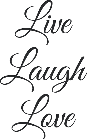 Live laugh love png. Wall decal stickersstickers