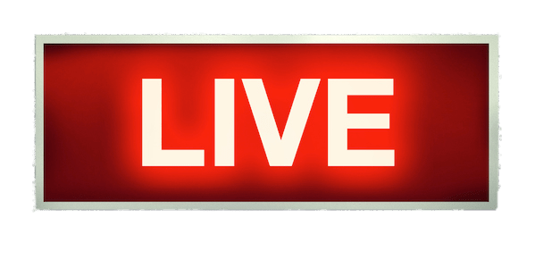 Live on air png. Sign transparent stickpng