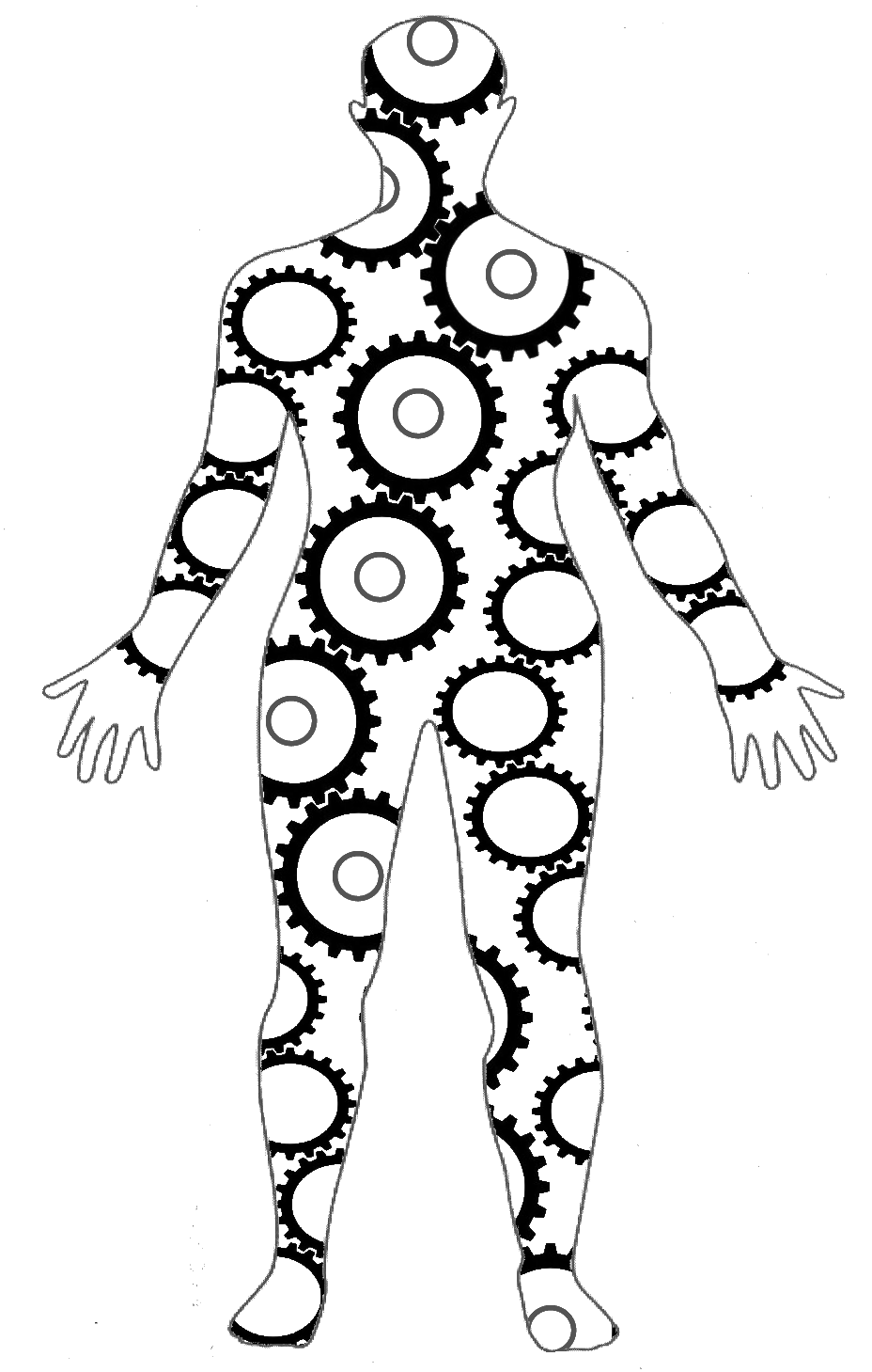 Liver clipart body clipart. Human silhouette medical at