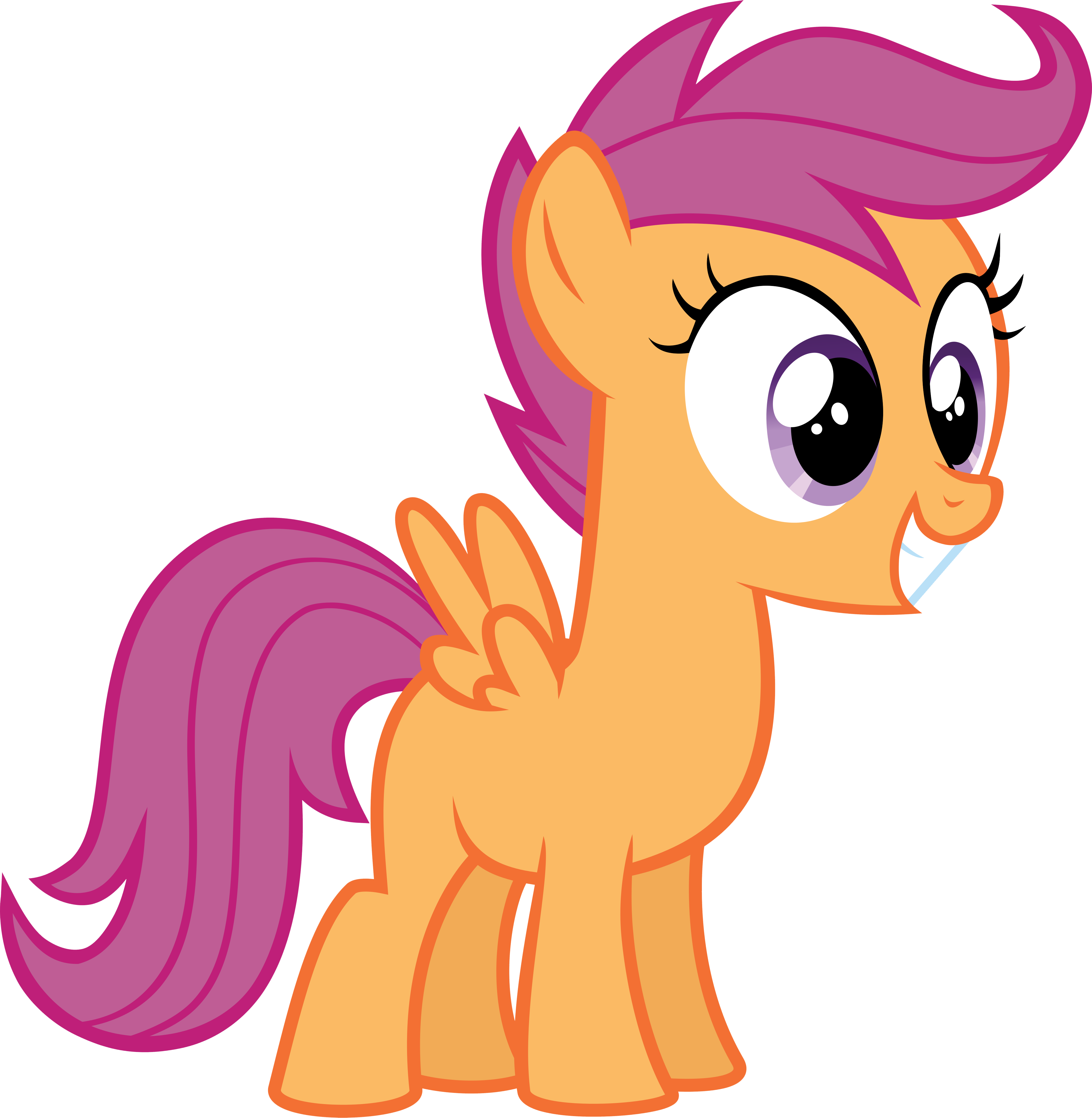 Liver clipart happy. Scootaloo is ha little