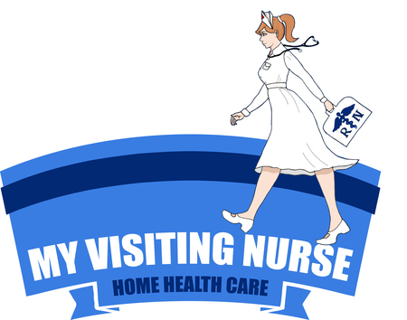Living clipart home visit. My visiting nurse care