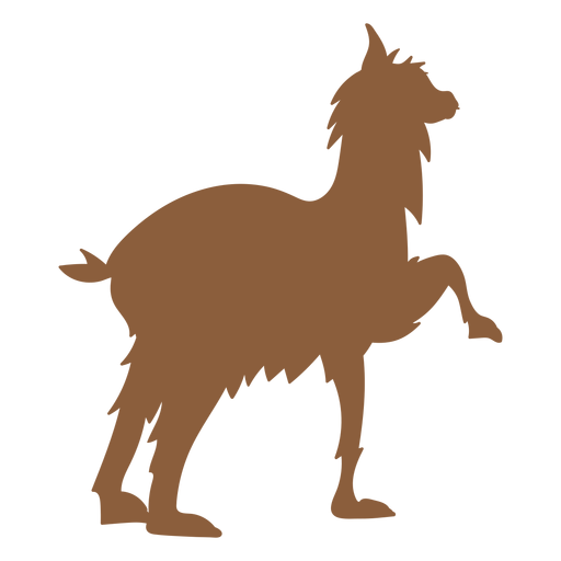 Llama animal vector png. Silhouette transparent svg